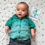 Today I am four months old. Weekly, Monthly and Developmental photo prop cards.