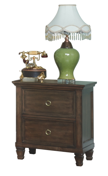 New Classic Tamarack Nightstand in Brown Cherry