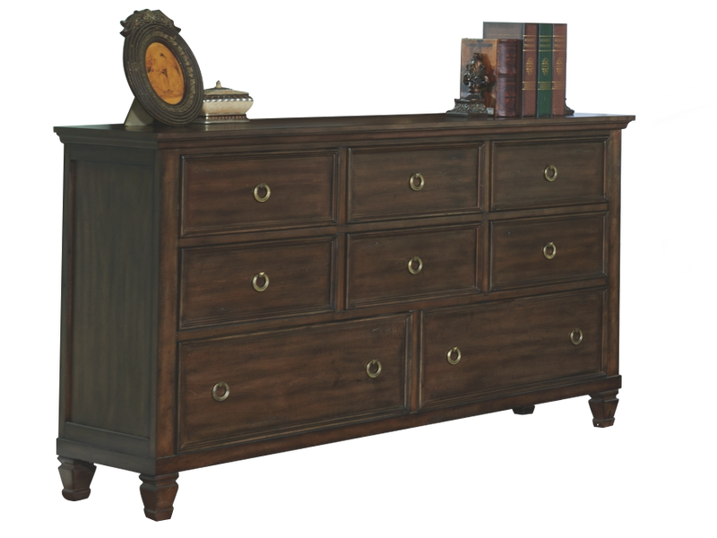 New Classic Tamarack Dresser in Brown Cherry