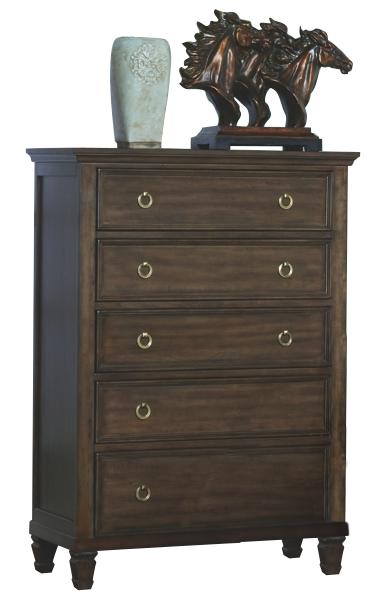 New Classic Tamarack Chest in Brown Cherry
