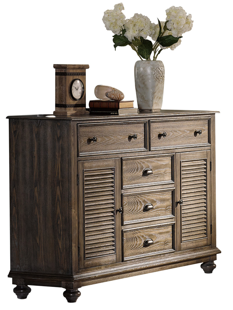 New Classic Lakeport Dresser in Pewter