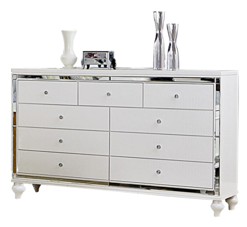 Homelegance Alonza Dresser in Bright White