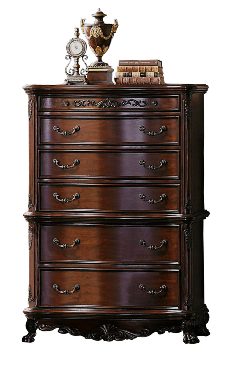 Homelegance Deryn Park Chest in Cherry