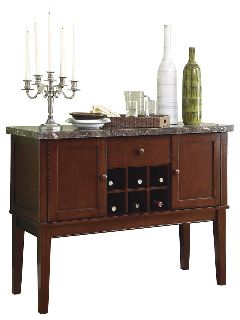 Homelegance Decatur Server in Espresso