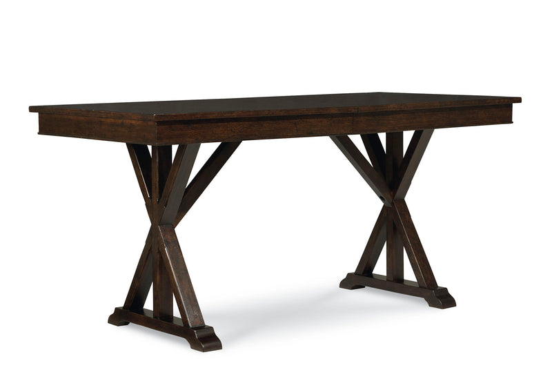 Legacy Classic Thatcher Dining Table in Amber