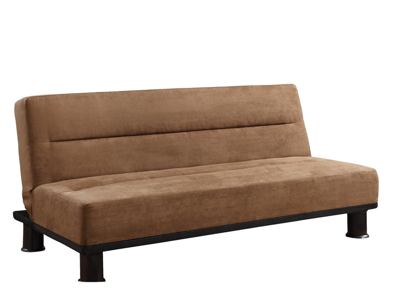 Homelegance Callie Convertible Sofa in Microfiber - Brown