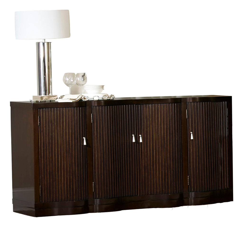 Homelegance Savion Server in Espresso
