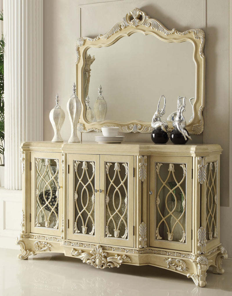 Dining Buffet in Newberry Cream Finish B5800 European Traditional Victorian