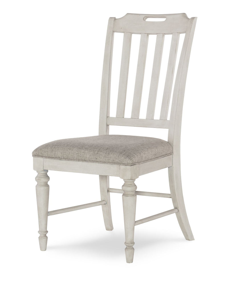 Legacy Classic Brookhaven Side Chair in Rustic Dark Elm