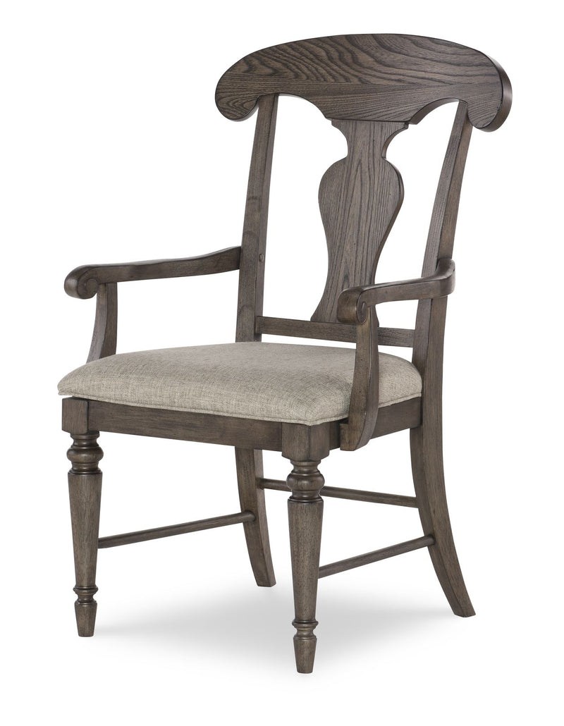 Legacy Classic Brookhaven Arm Chair in Rustic Dark Elm