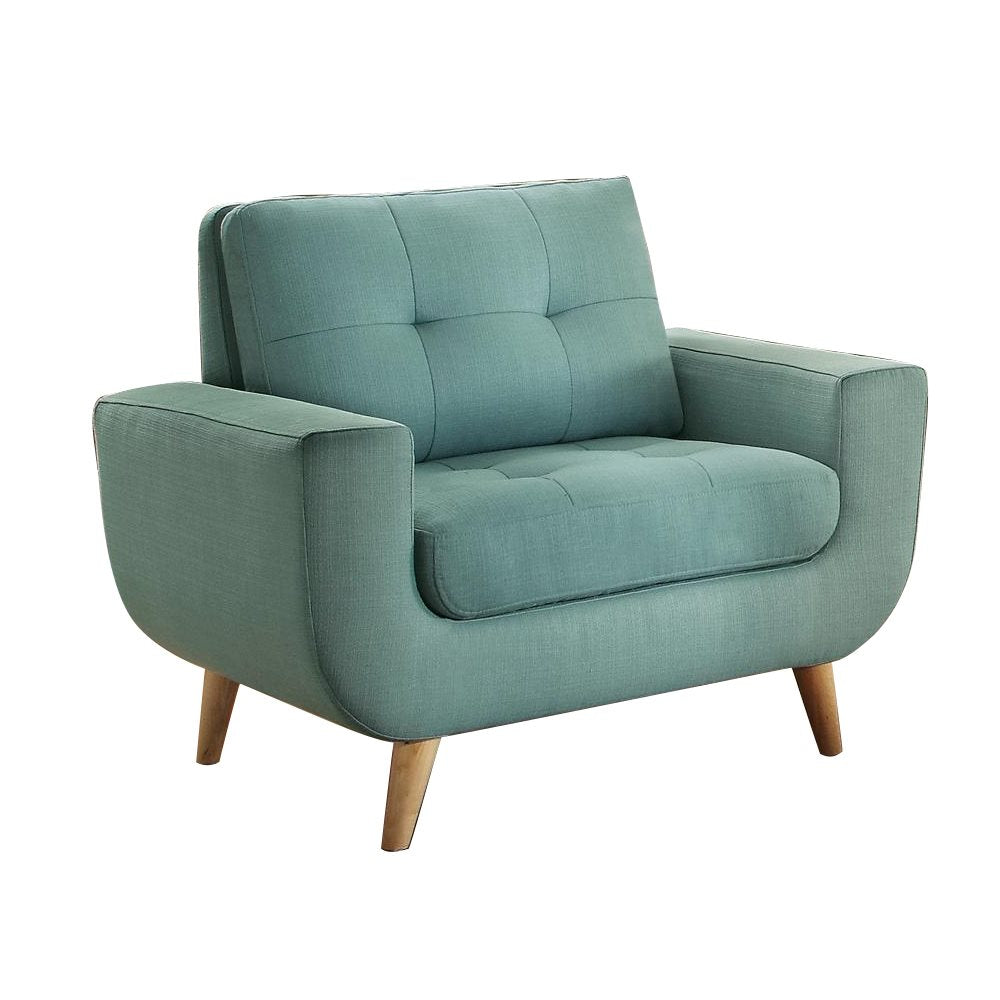 Homelegance Deryn Chair in Teal Fabric