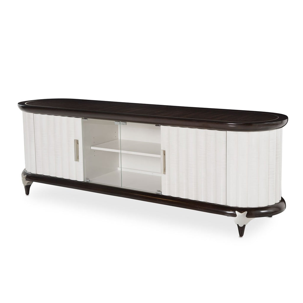 Aico Amini Paris Chic Media Cabinet in Espresso