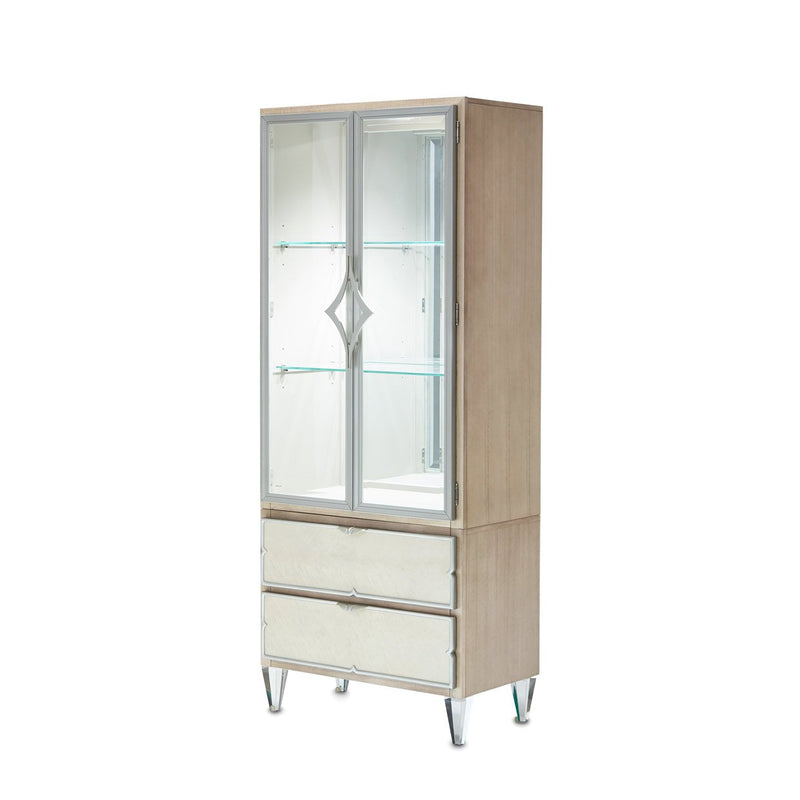 Aico Amini Camden Court in Display Cabinet in Pearl