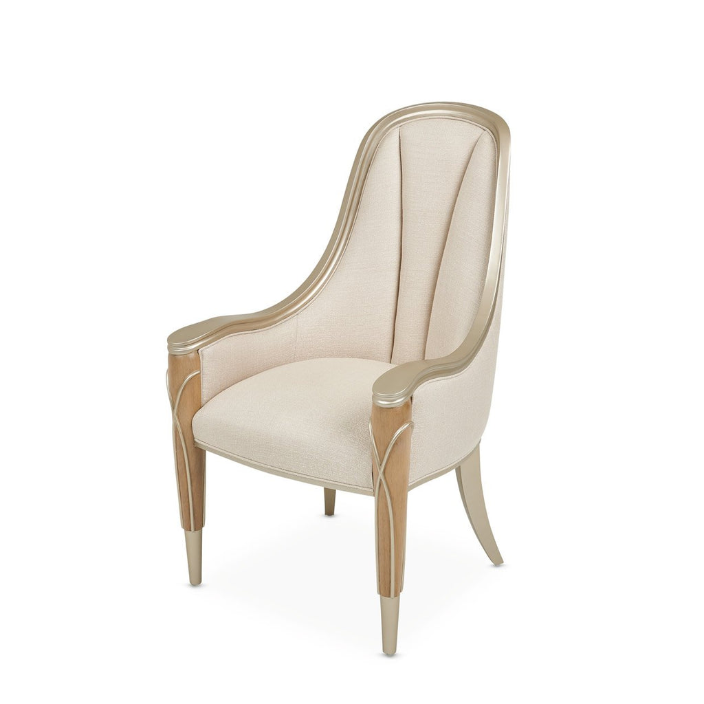 Aico Amini Villa Cherie 2 Arm Chair in Caramel
