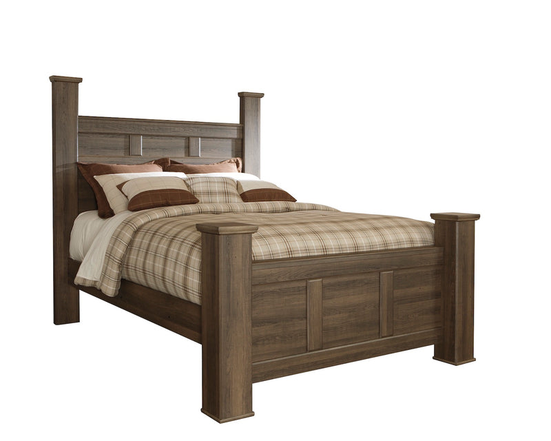 E King Poster Bed