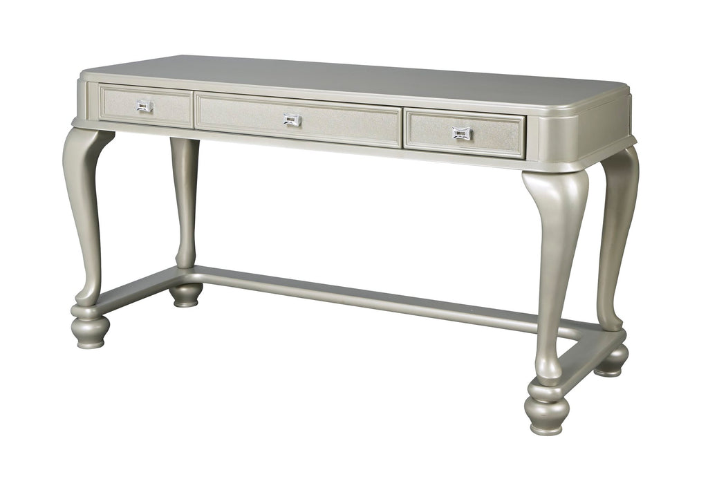 Ashley Coralayne Vanity in Silver - The Furniture Space.