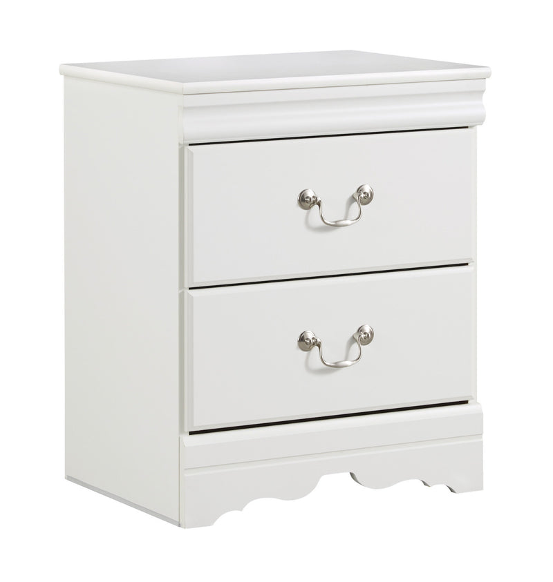 Ashley Anarasia Twin Nightstand in white