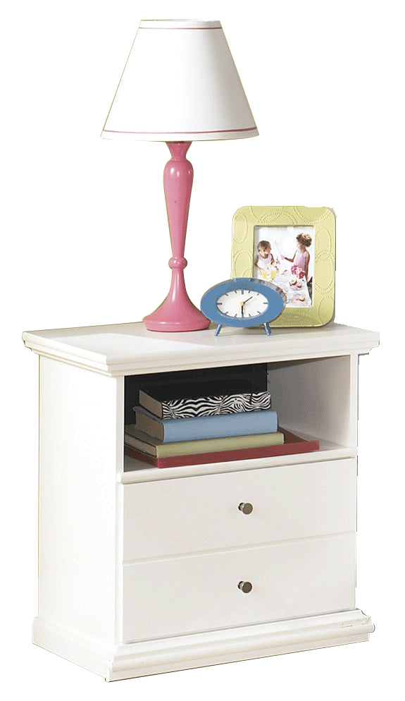 Ashley Bostwick Shoals One Drawer Nightstand in White