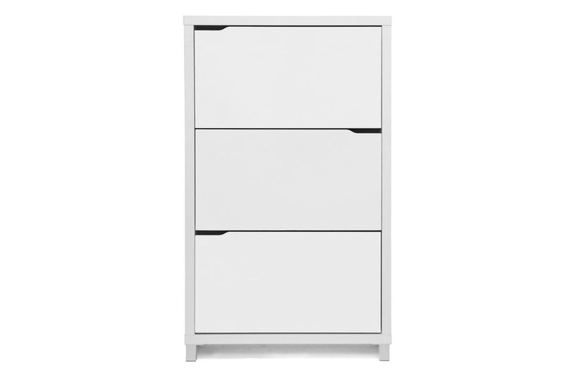 Shoe Cabinet in White