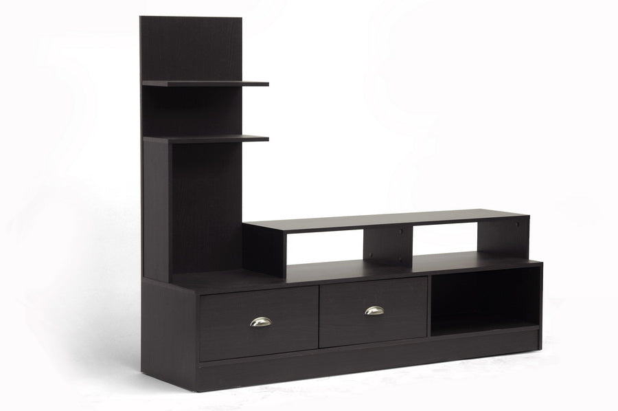 TV Stand in Dark Brown