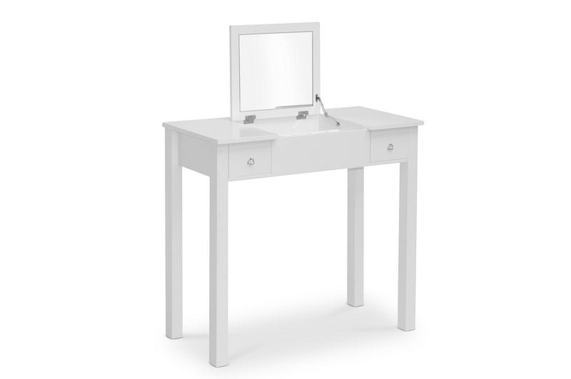 Contemporary Vanity Table in White