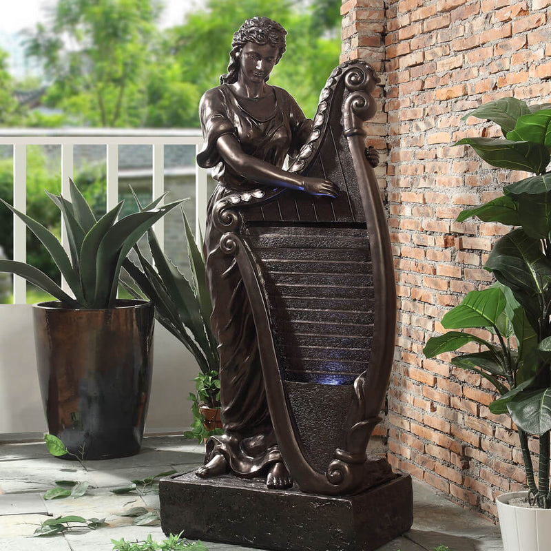 Fountain in Bronze Finish 2092 European Traditional Victorian