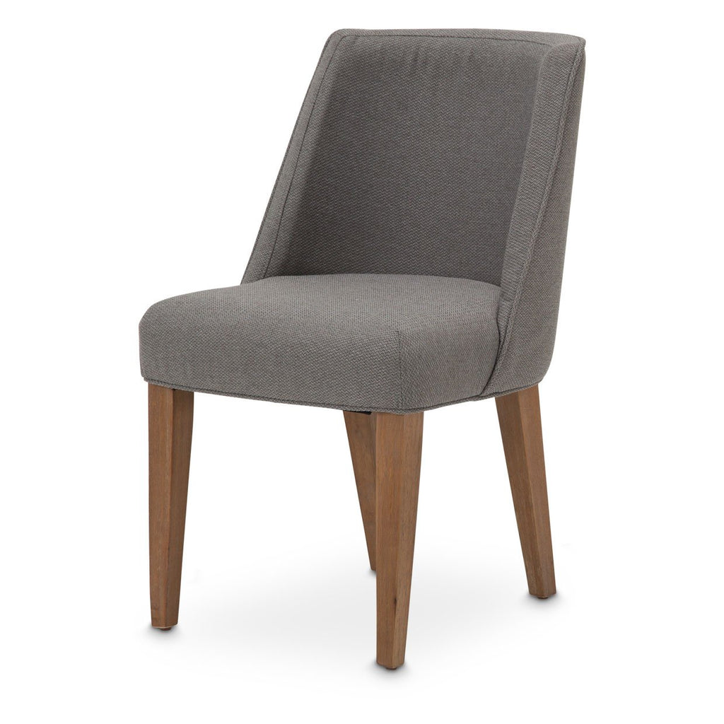 Aico Amini Brooklyn Walk 2 Side Chair in Burnt Umber