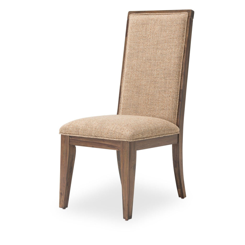 Aico Amini Carrollton 2 Side Chair in Rustic Ranch