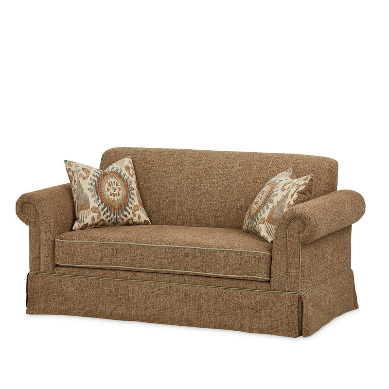 Aico Amini Carrollton Loveseat in Sand
