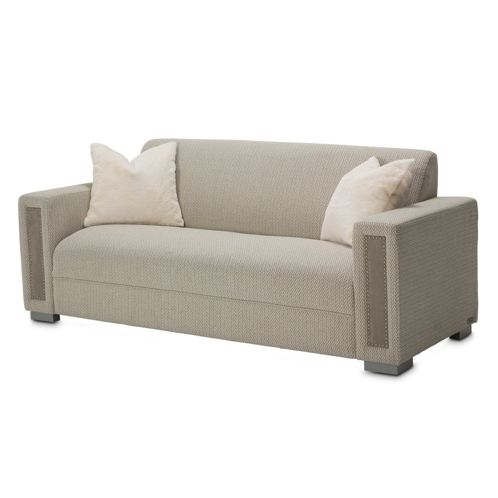 Aico Amini Menlo Station Sofa DVE in Dove Gray