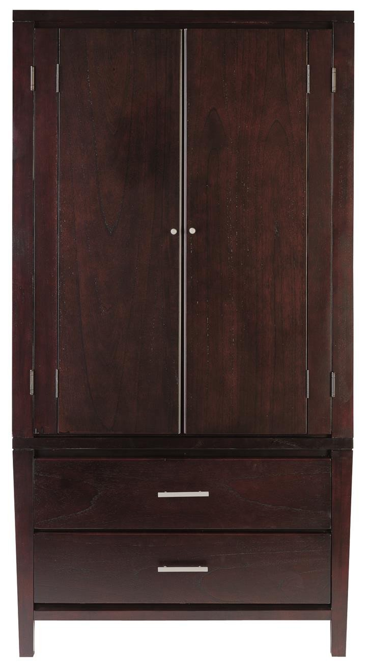 Napier Armoire in Espresso by Mfix Furniture