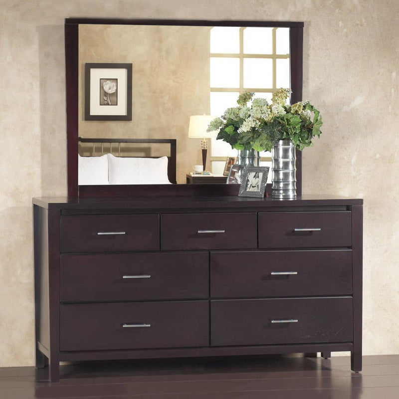 Napier Ranshaw 4 Piece Queen Storage Platform Bedroom Set in Espresso by Mfix Furniture