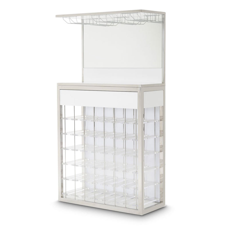 Aico Amini State St Wall Bar in Glossy White