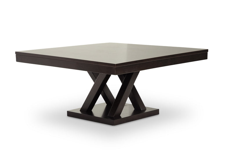 Modern Coffee Table in Dark Brown