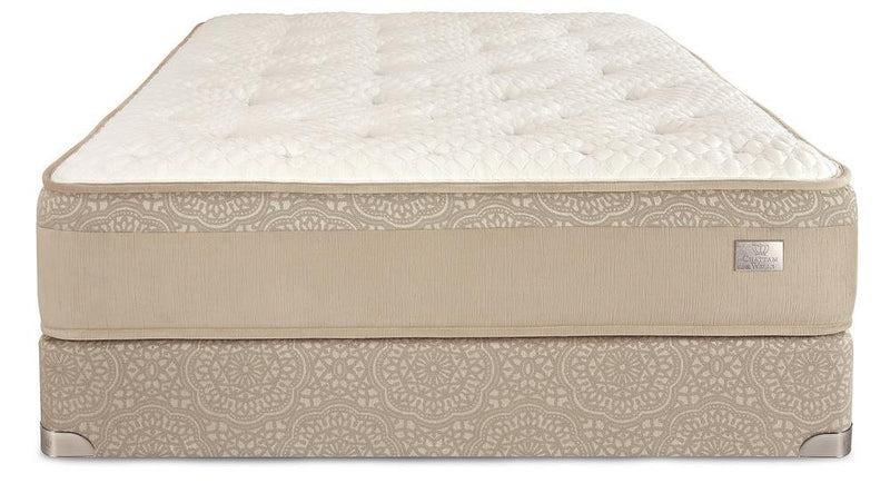 Chattam & Wells Twin Hamilton Luxury Firm Mattress Set - The Furniture Space.