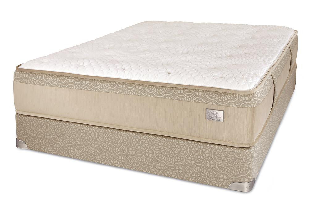 Chattam & Wells Twin Hamilton Luxury Plush Mattress Set - The Furniture Space.