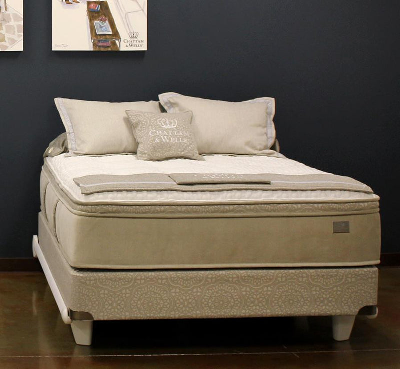 Chattam & Wells Hamilton Pillow Top Full X-Long Mattress - The Furniture Space.