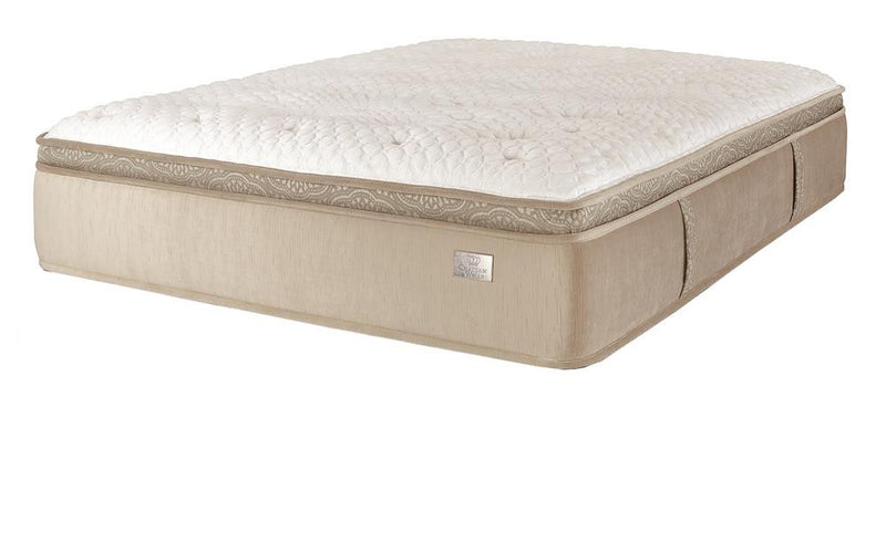 Chattam & Wells Revere Euro Top Full X-Long Mattress - The Furniture Space.