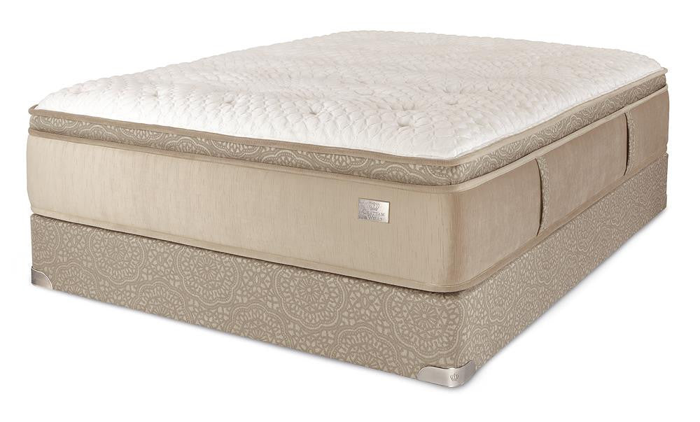 Chattam & Wells Twin X-Long Revere Euro Top Mattress Set - The Furniture Space.
