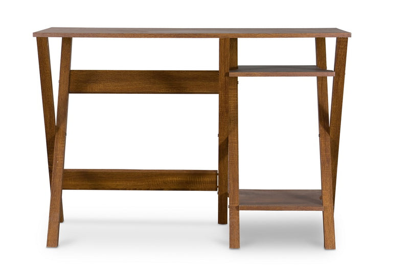 Contemporary Writing Desk in Brown