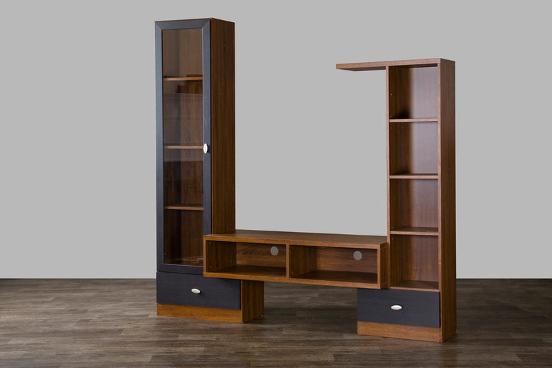 Contemporary TV Stand in Brown