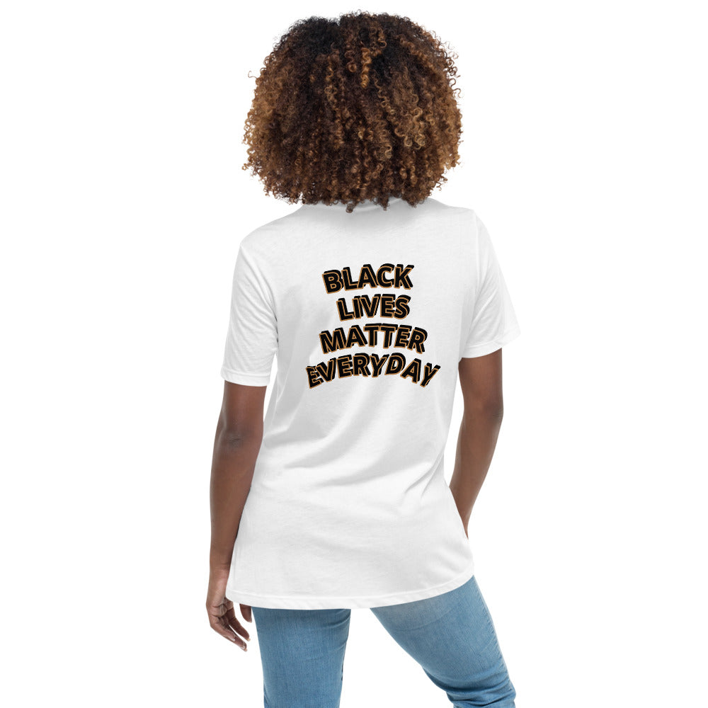 Women's Black Lives Matter Relaxed T-Shirt