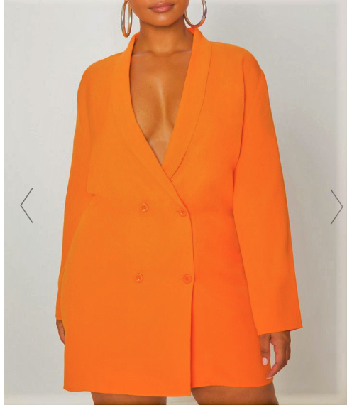 Orange jacket light weight size 20 / 22