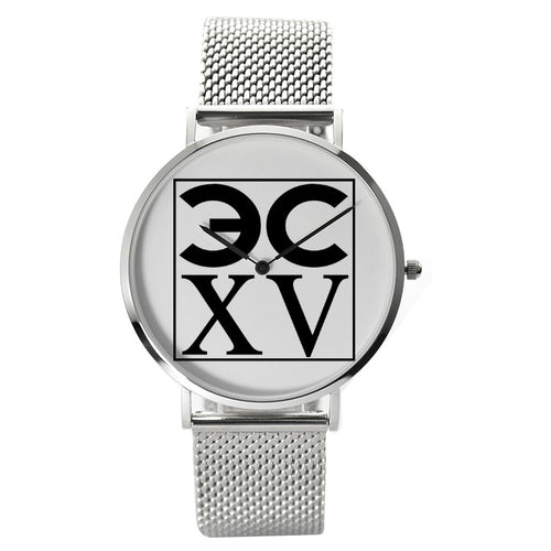 ECXV™30 Meters Waterproof Quartz Fashion Watch With Casual Stainless Steel Band