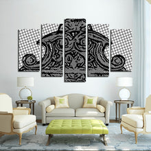 Rome's 5 Panels Canvas Prints Wall Art for Wall Decorations
