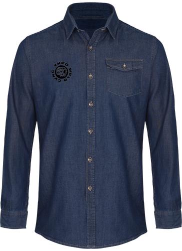 Thrd Wrld Gvng™ Jeans Denim Men's Shirt