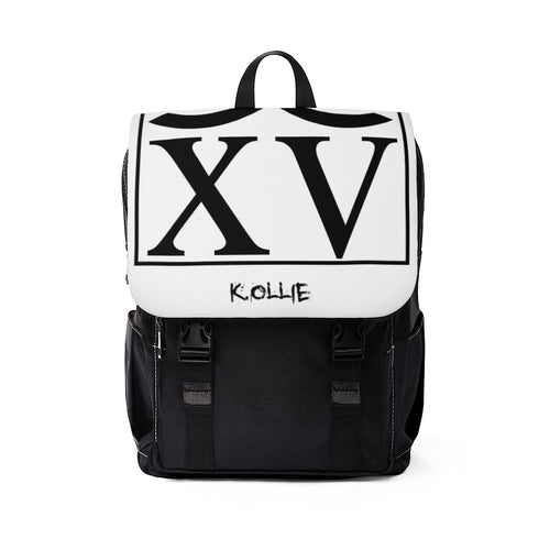 K. Ollie Unisex Casual Shoulder Backpack