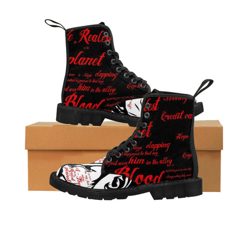 Third World Don™ - Ray Charles™ Eccentric's™ Steppah Men's Boots