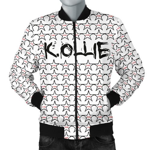 K. Ollie™ International Rap Star Bomber Jacket  Yah Yah!™