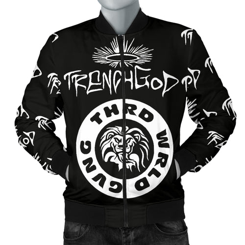 Trench God™ - Third World Don™ Bomber Jacket